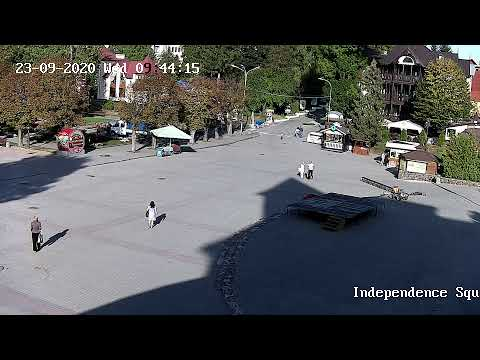 Watch this video on YouTubeWebcam on Independence Square in Truskavets