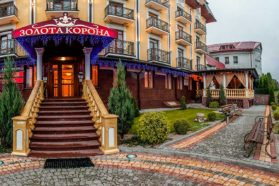 Hotel Golden Crown in Truskavets