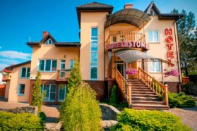 Hotel Red stone in Truskavets