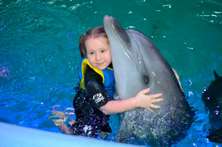 Rehabilitacja w delfinarium Oscar