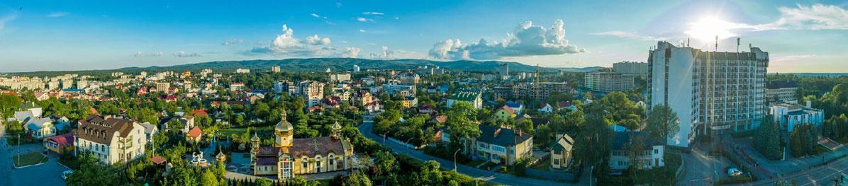 Панорама міста Трускавець